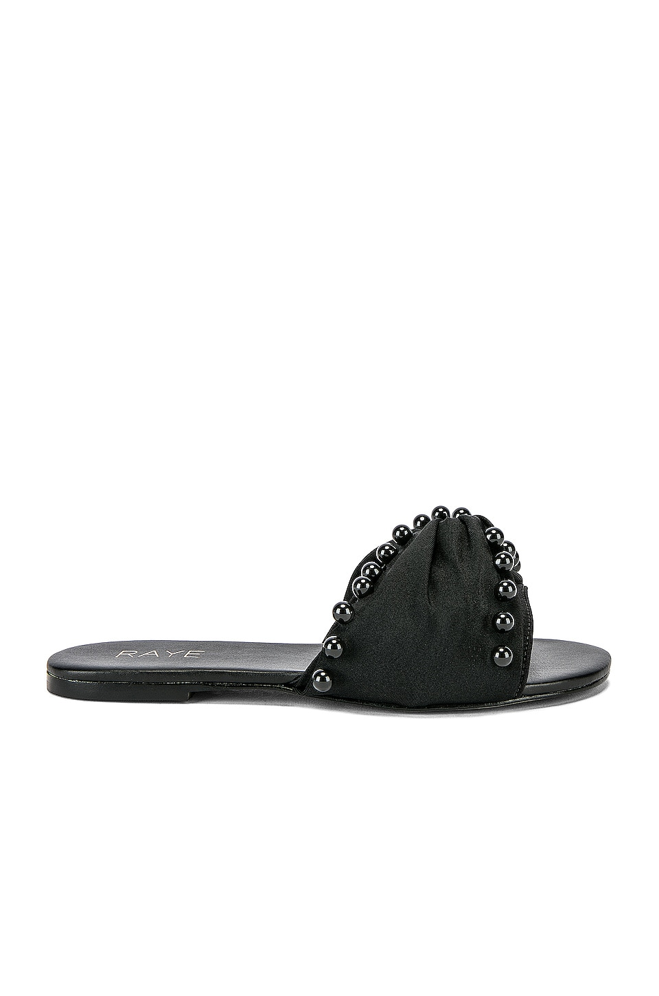 RAYE Mateo Sandal in Black