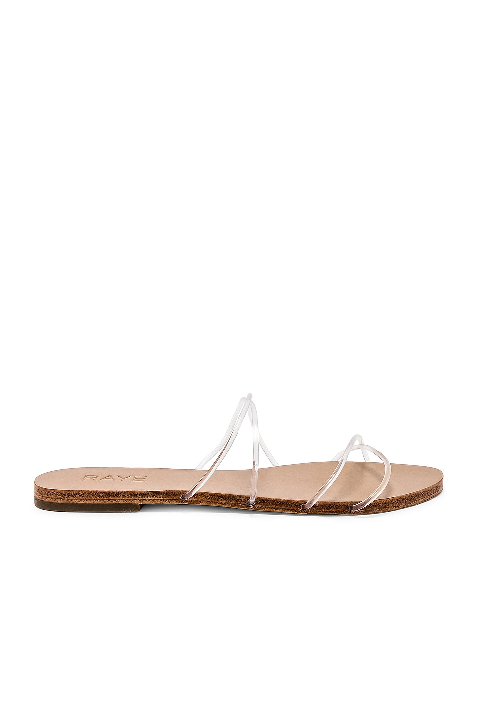 RAYE Tina Sandal in Clear