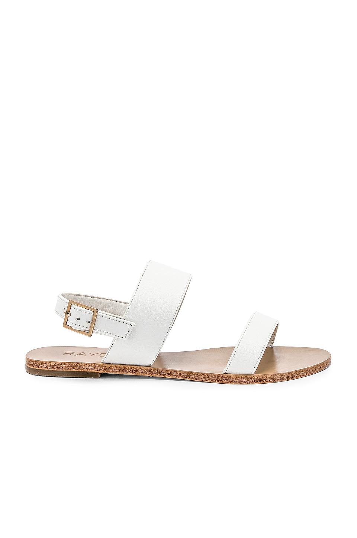 RAYE Sol Sandal in White