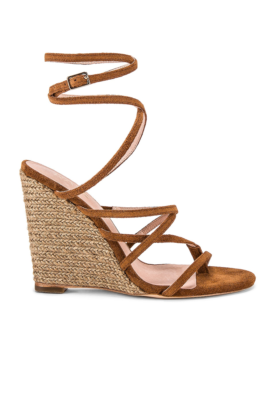 RAYE Acapulco Wedge in Cognac