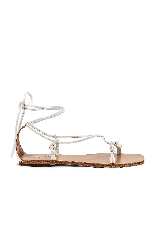 RAYE Omni Sandal in White