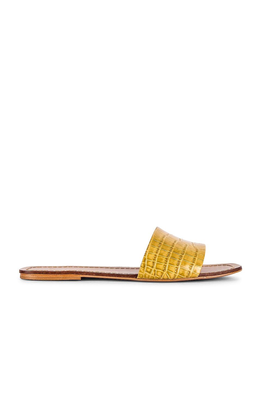 RAYE Houston Sandal in Yellow