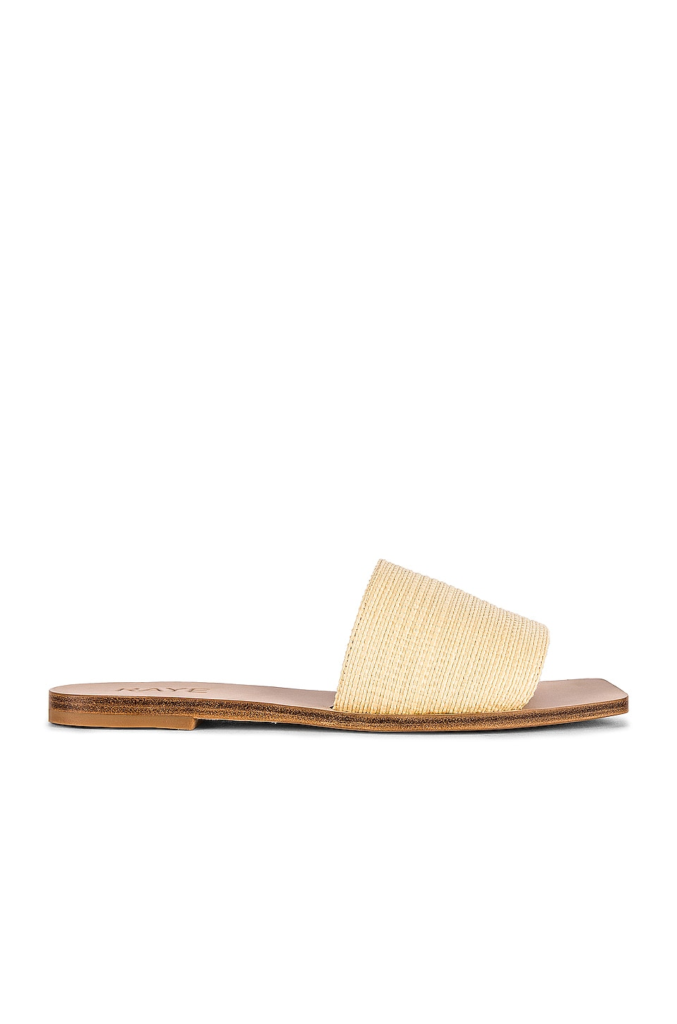 RAYE Mecca Sandal in Natural