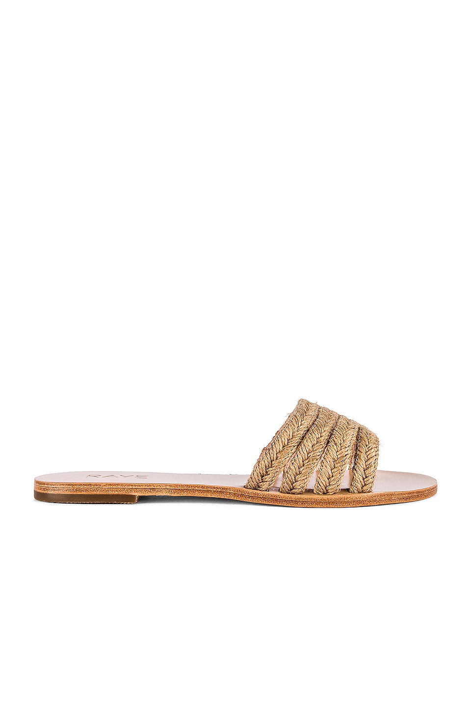 RAYE Twist Sandal in Natural