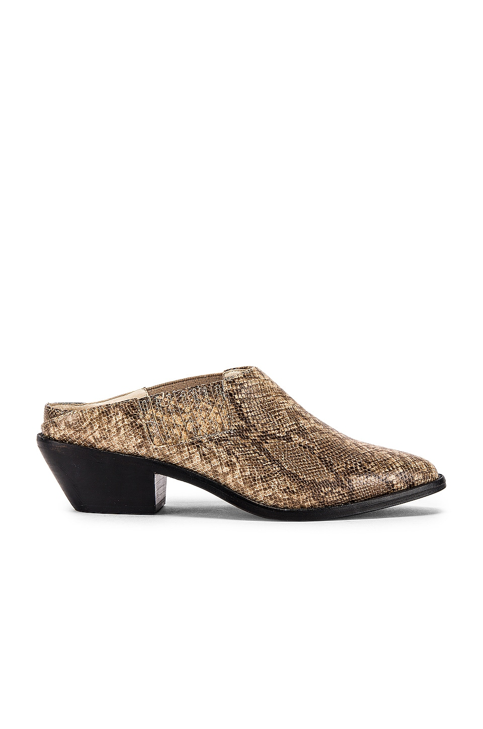 RAYE Derby Heel in Taupe