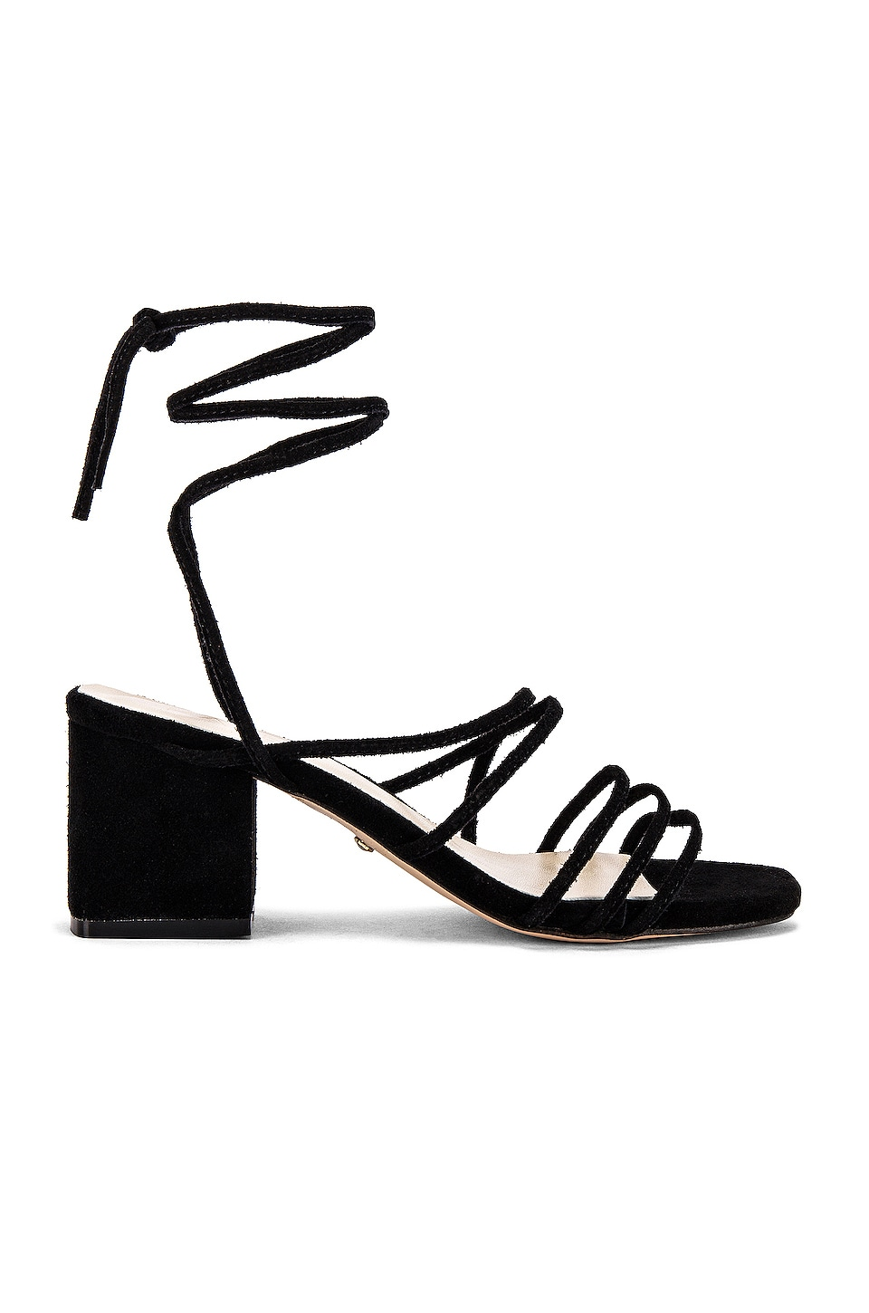RAYE Lunar Sandal in Black