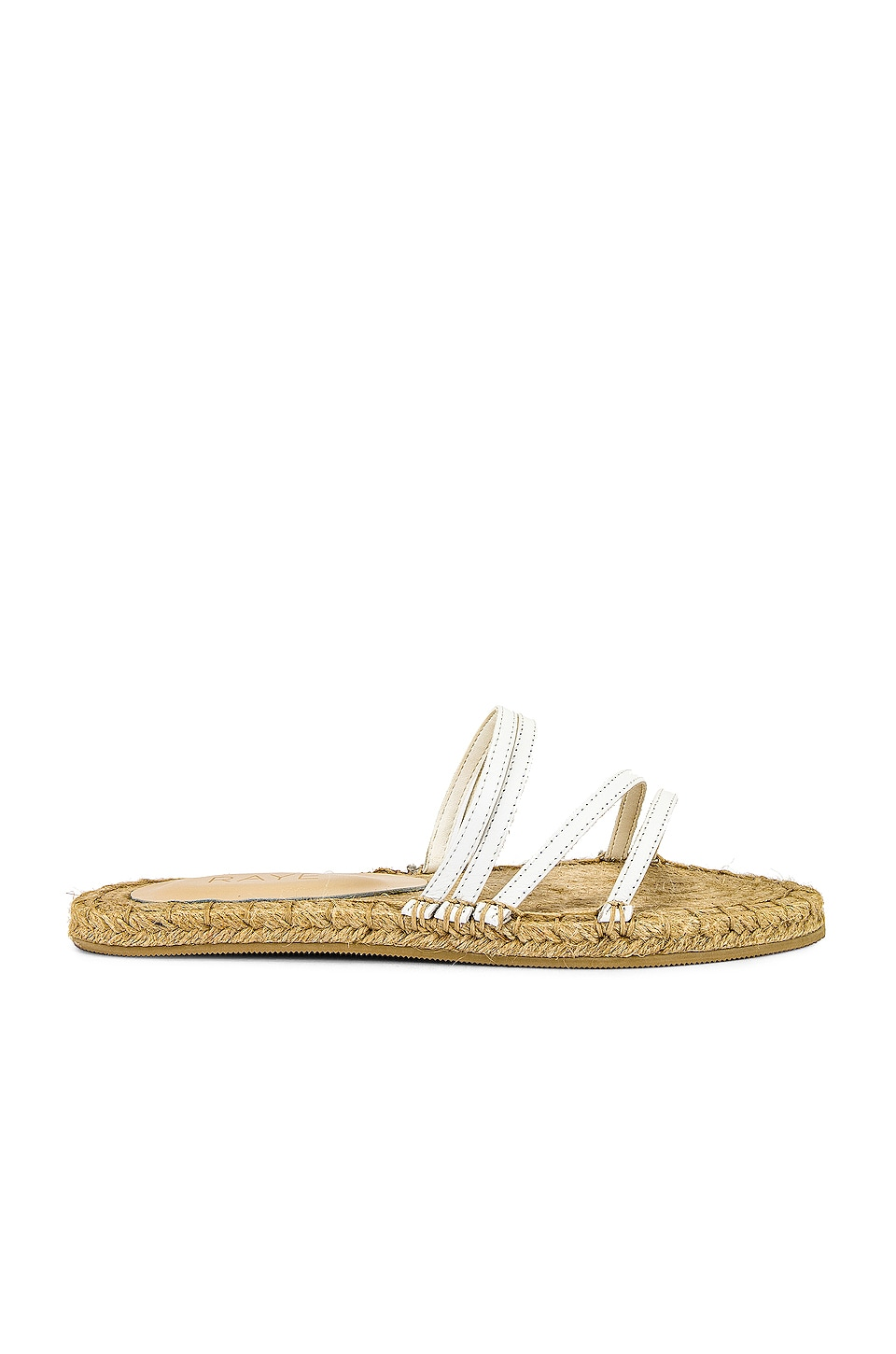 RAYE Whimsy Espadrille in White