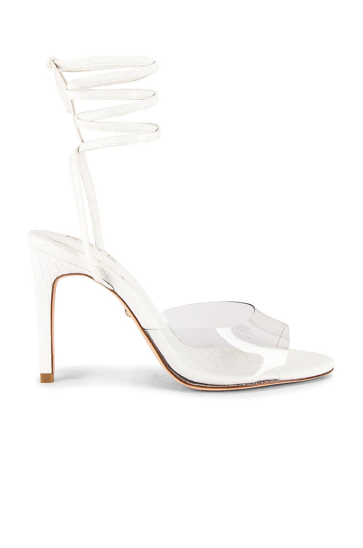 RAYE Carter Heel in White