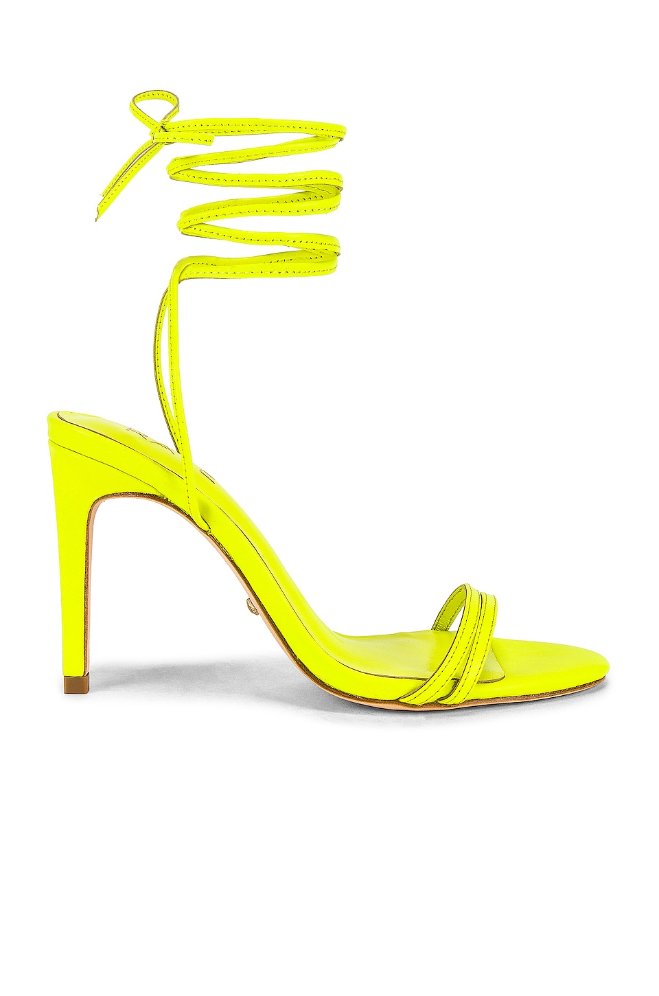 RAYE Alex Heel in Neon Yellow