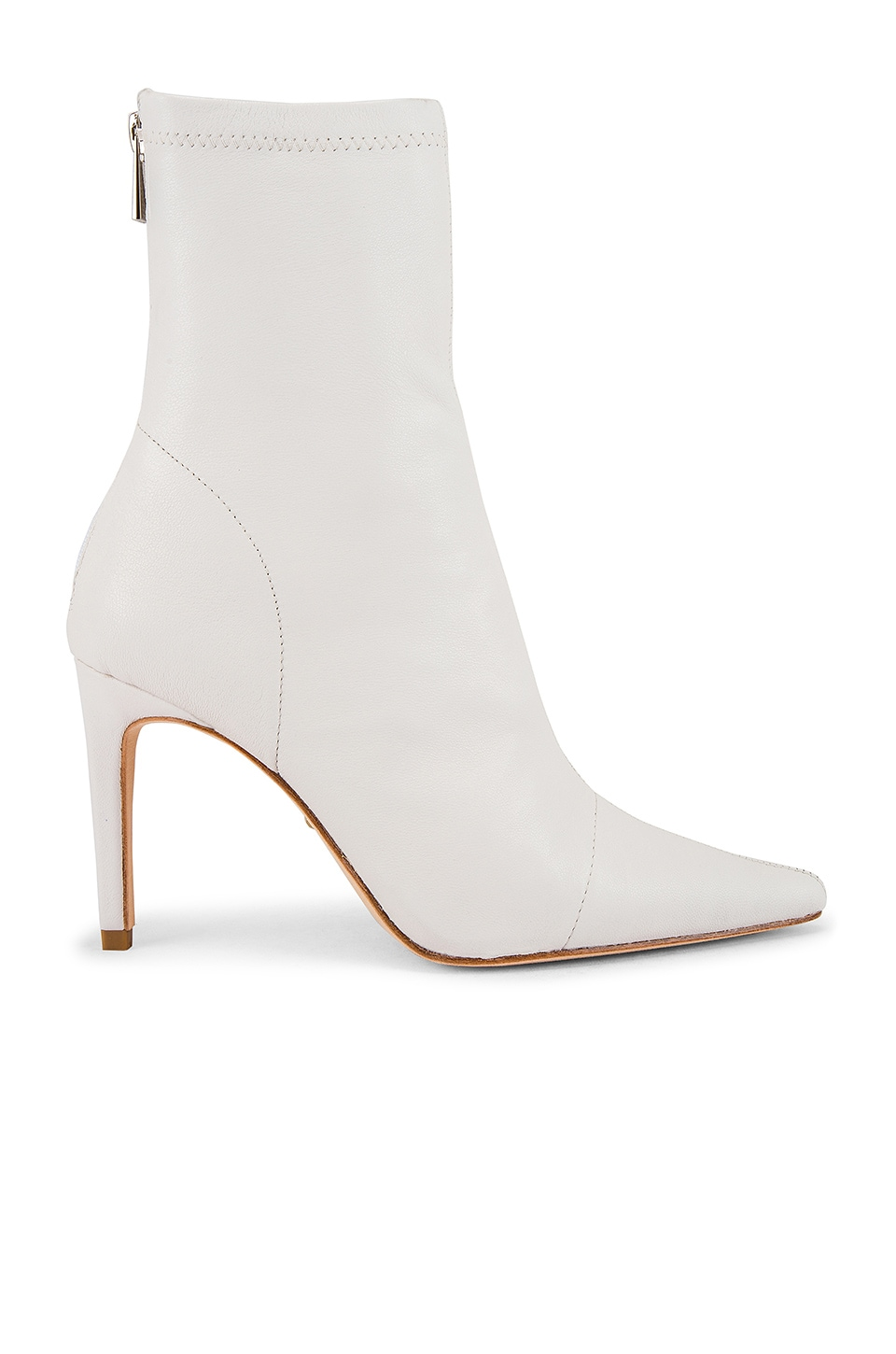 RAYE Bevy Bootie in White Leather