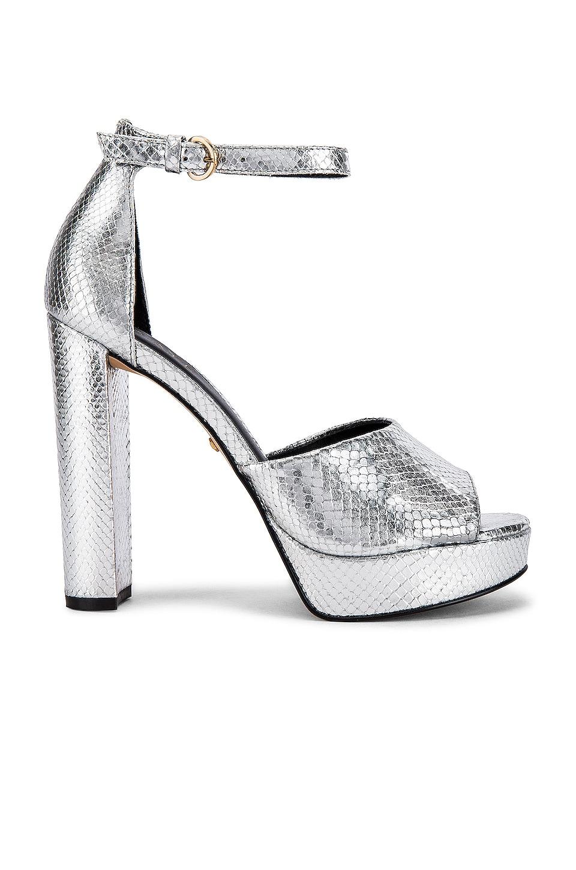 RAYE Dune Heel in Silver