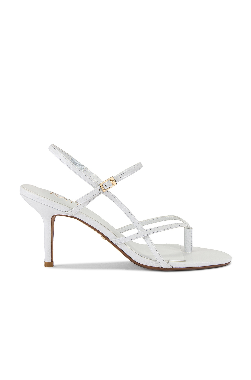 RAYE Meringue Heel in White