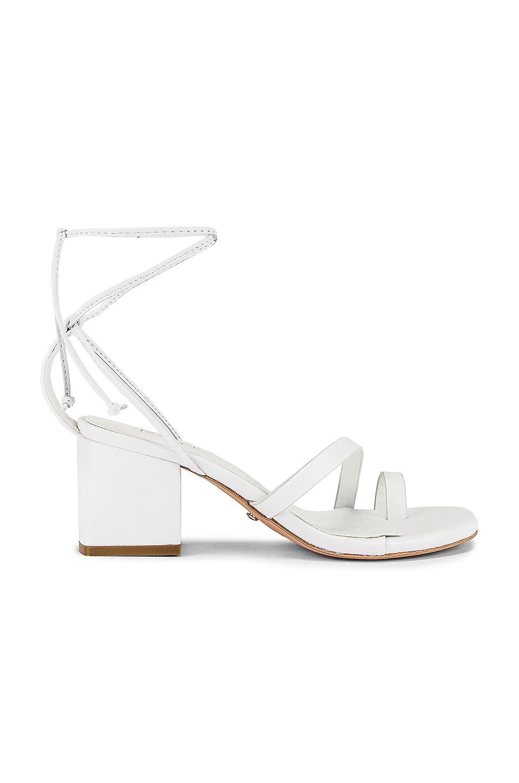 RAYE Sussex Heel in White