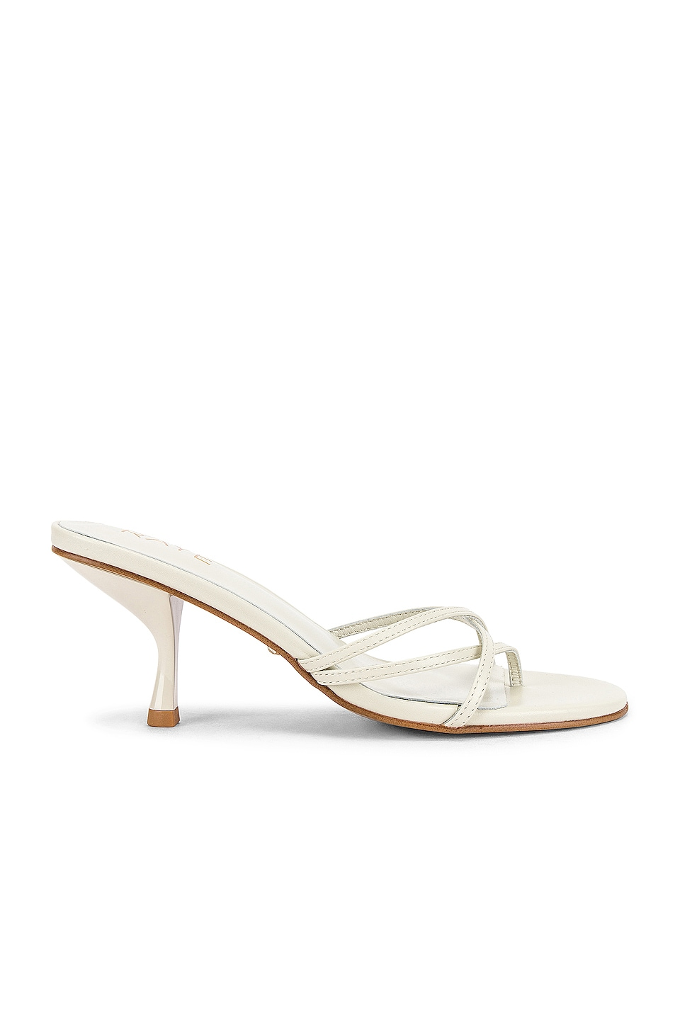 RAYE Toffee Sandal in White