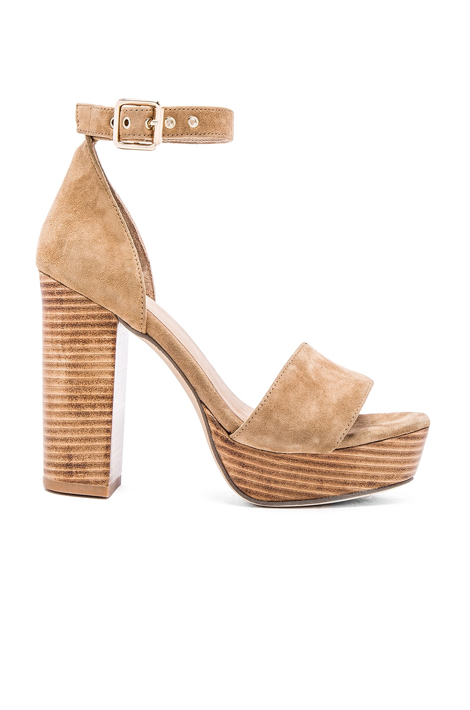 RAYE Hannah Platform in Tan