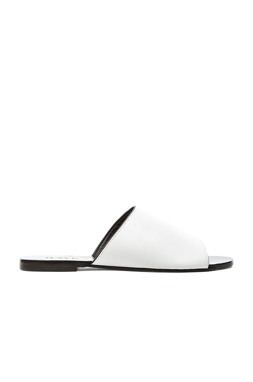 RAYE Sienna Slide in White