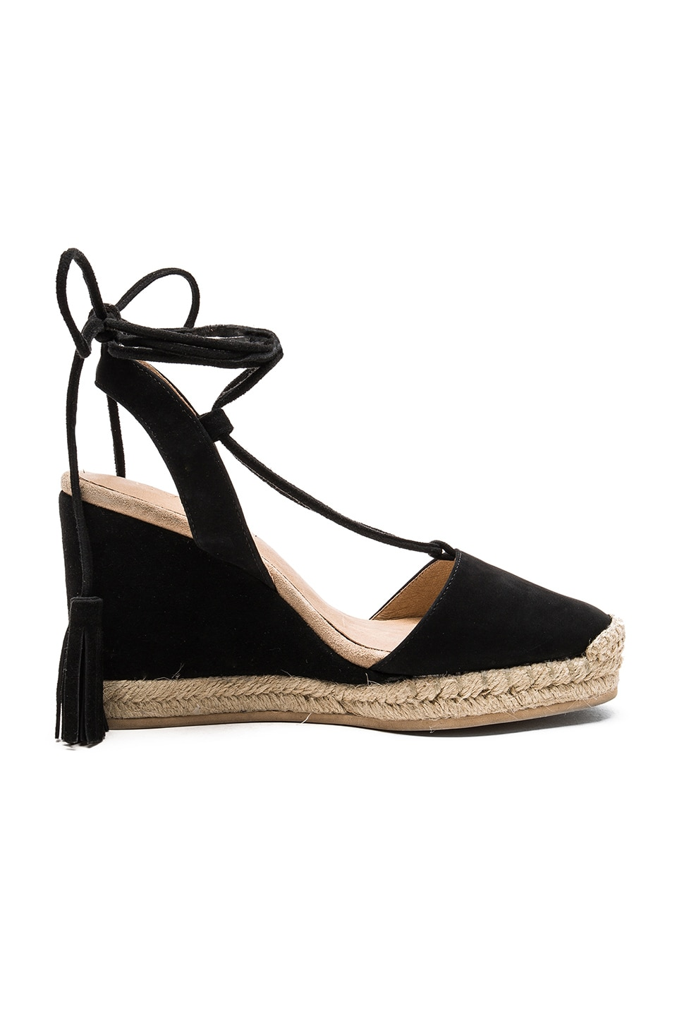 RAYE Daisy Wedge in Black