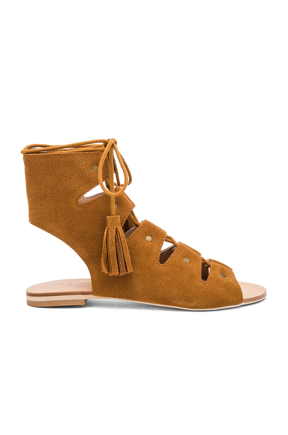 RAYE Sydney Sandal in Whiskey