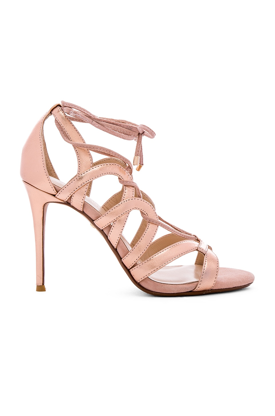 RAYE Bella Heel in Rose Gold