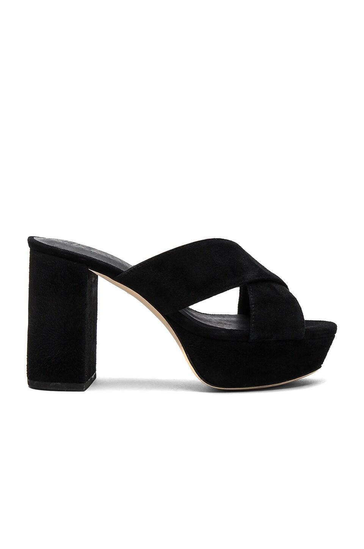 RAYE x STONE_COLD_FOX Petra Heel in Black