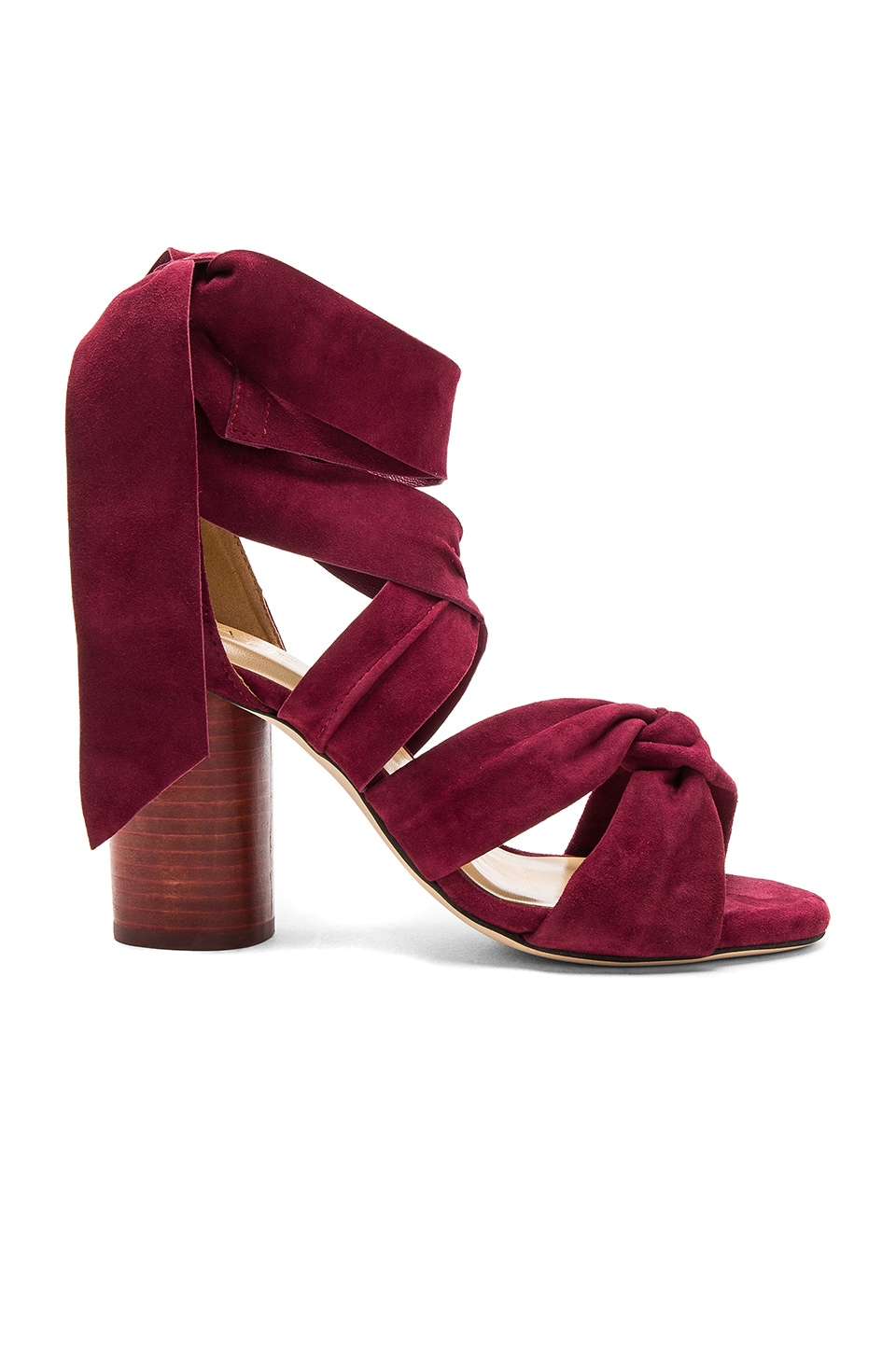RAYE Myra Heel in Crimson
