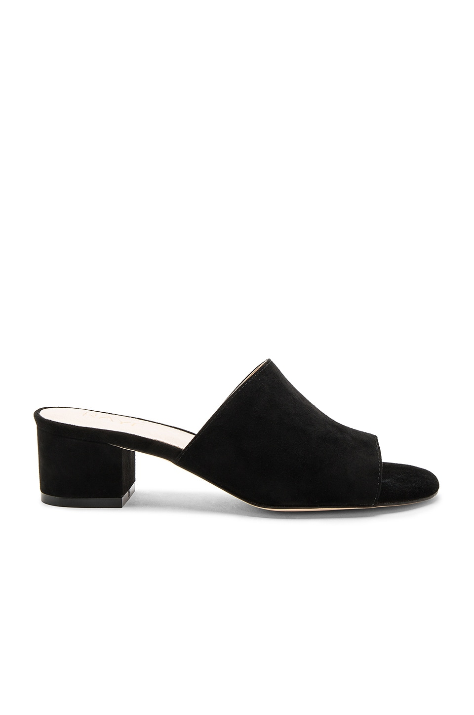 RAYE Cara Mule in Black Suede