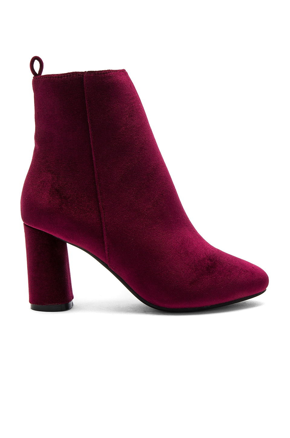 RAYE X NBD Afton Bootie in Scarlet