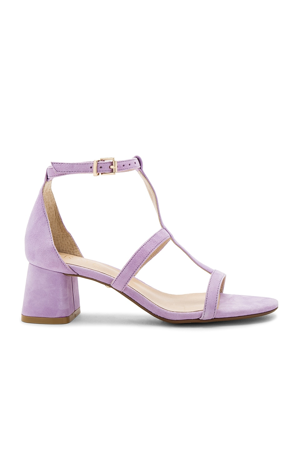 RAYE Aggie Sandal in Lilac Suede