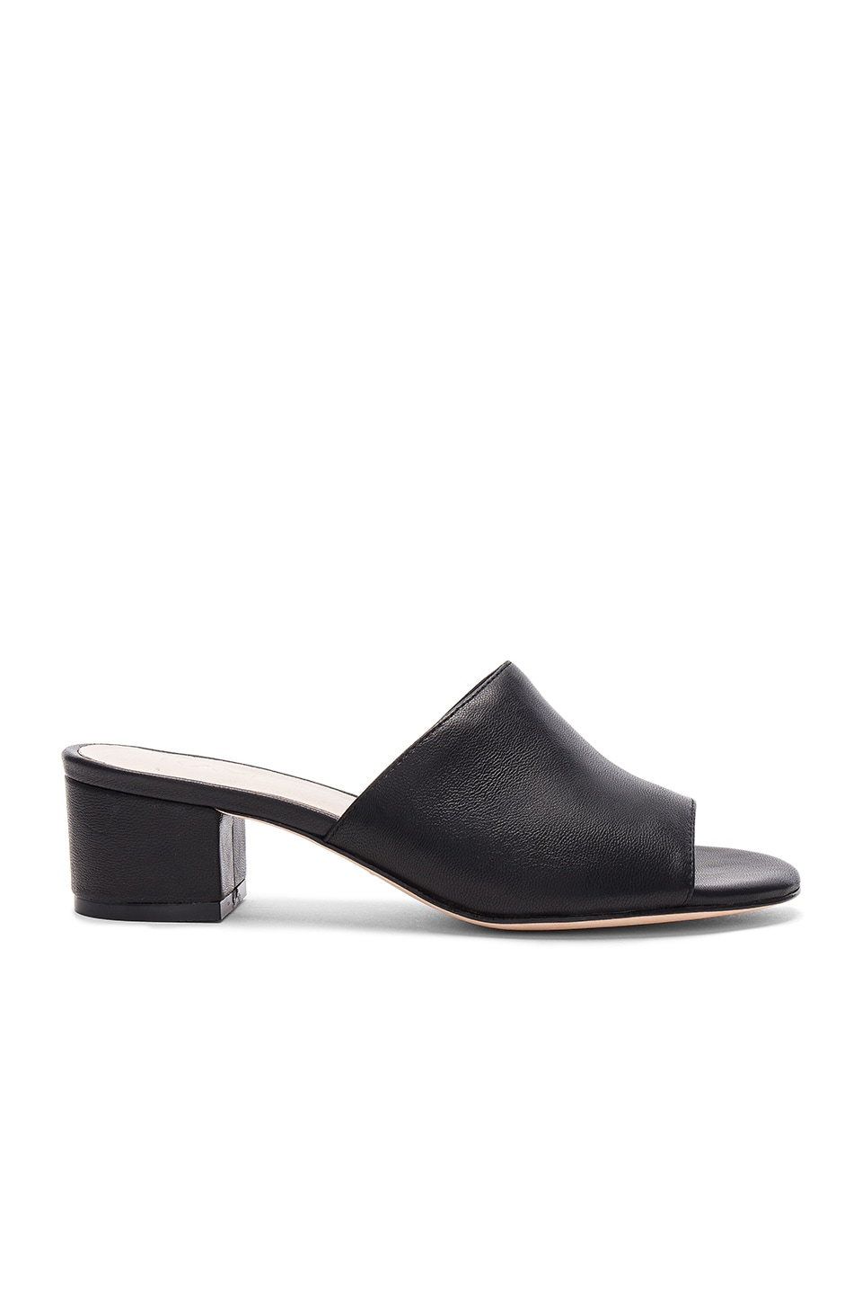 RAYE Cara Mule in Black