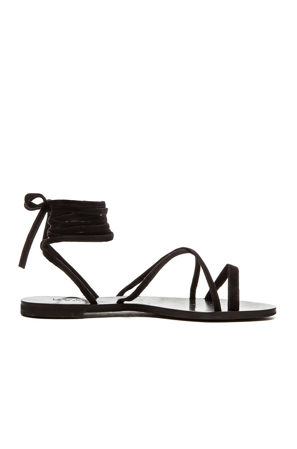 RAYE Sadie Gladiator Sandal in Black