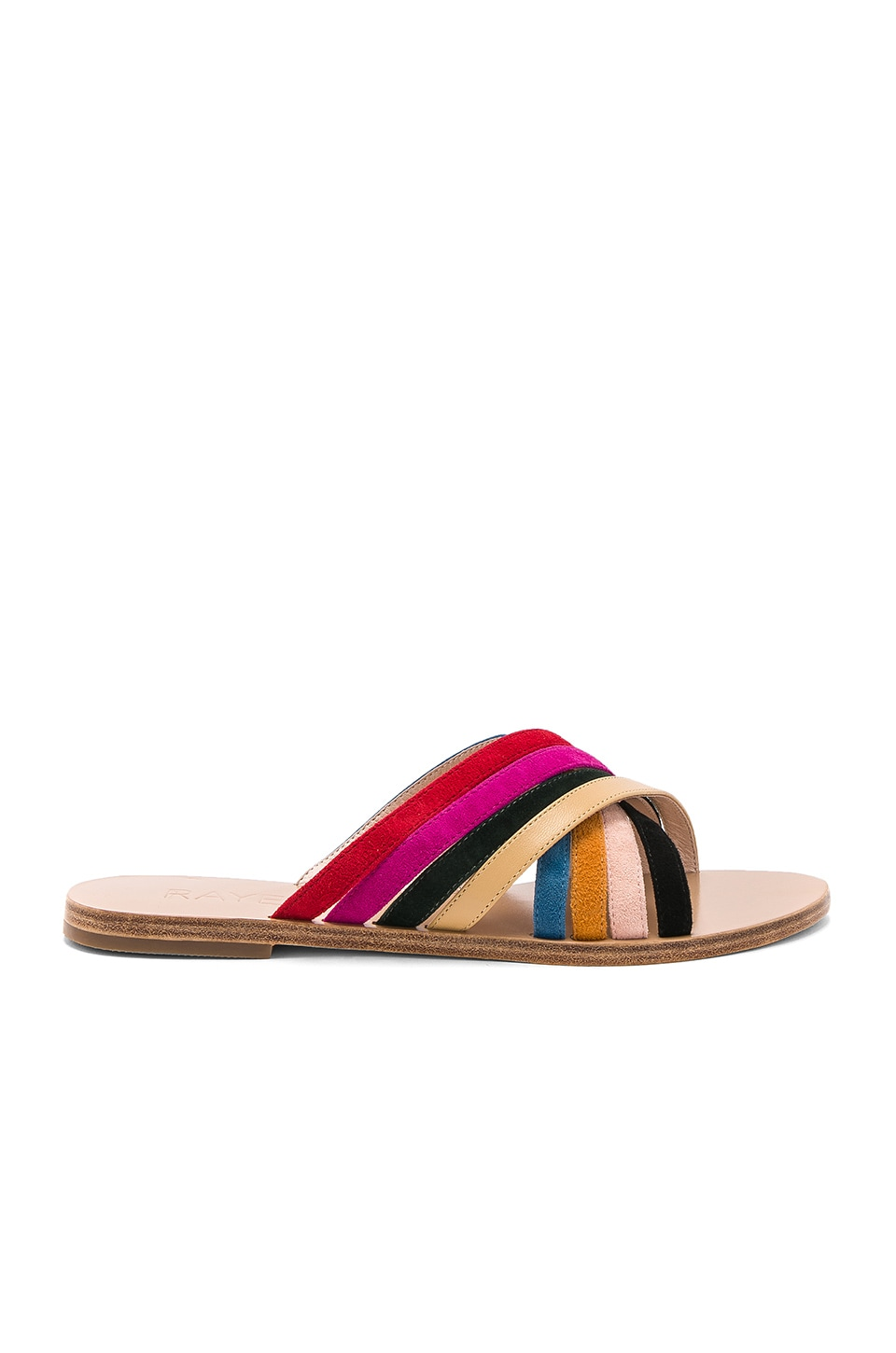 RAYE Silvie Sandal in Rainbow Multi