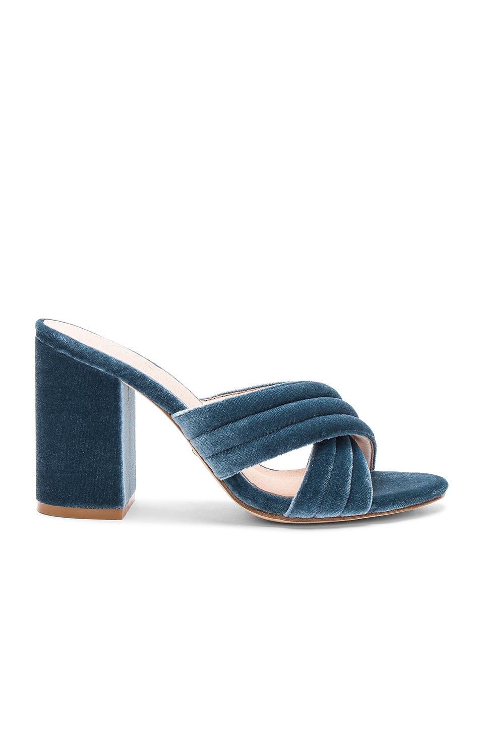 RAYE x REVOLVE Bella Mule in Dusty Blue