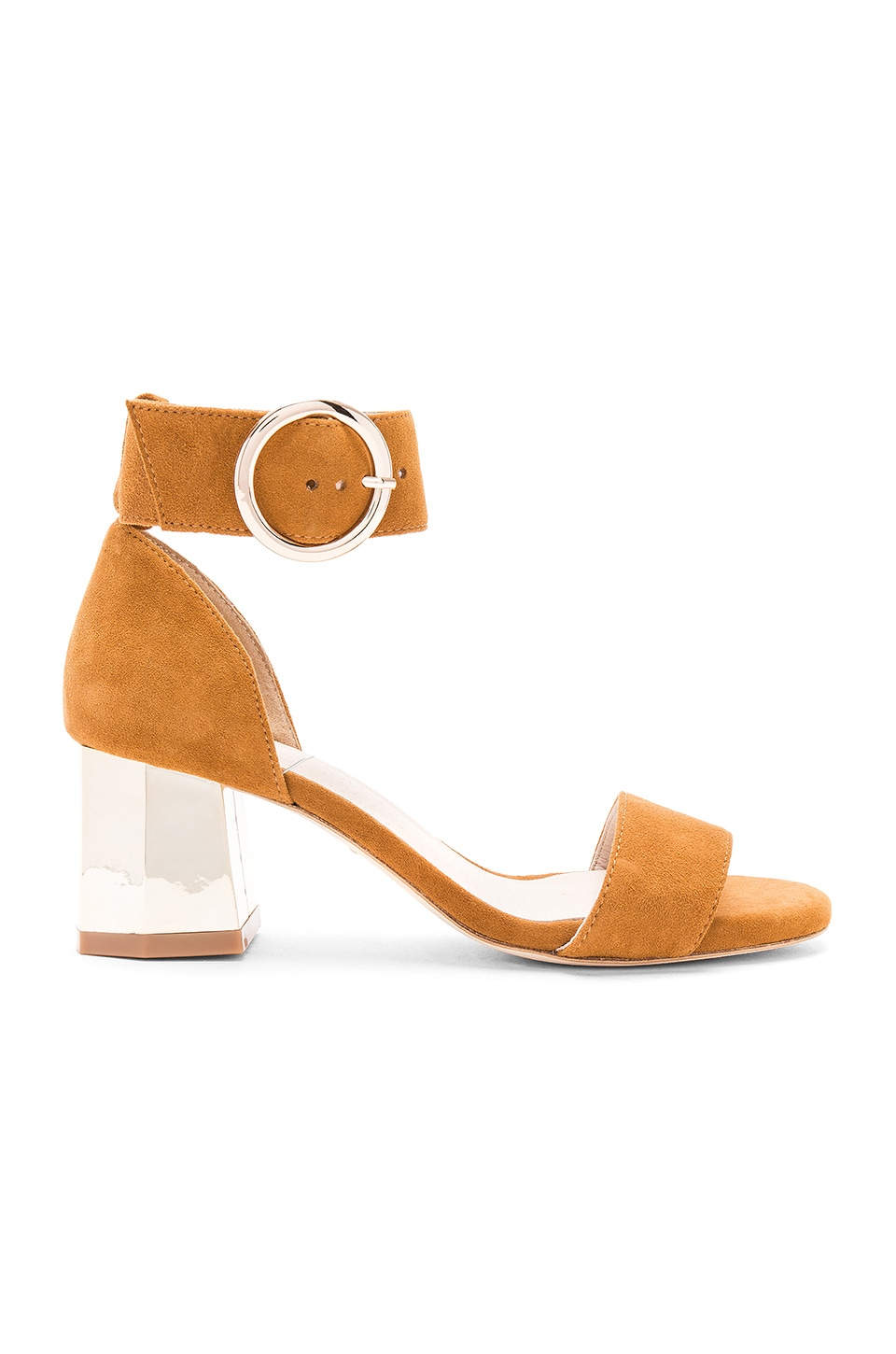 RAYE Lane Heel in Whiskey