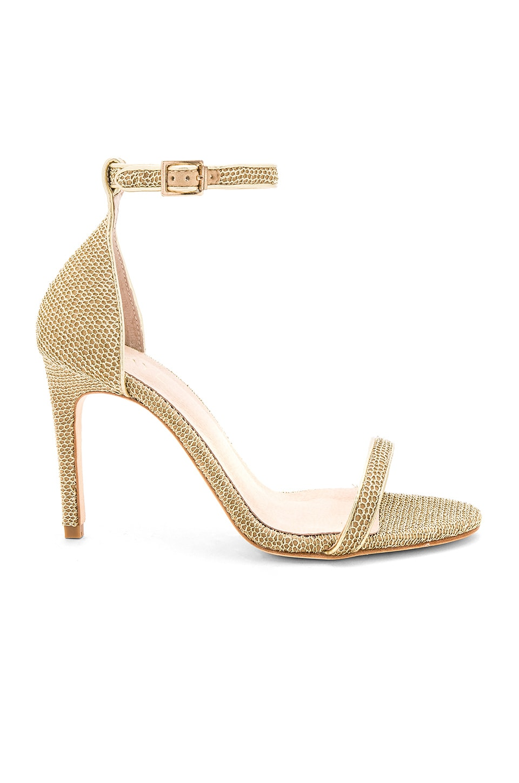 RAYE Kalene Heel in Gold