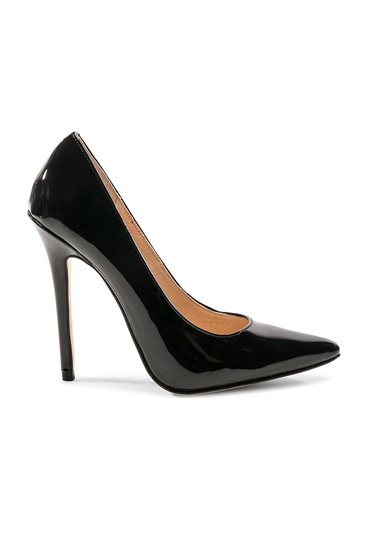 RAYE Raven Heel in Black Patent