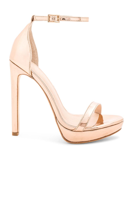 RAYE Brynne Heel in Rose Gold