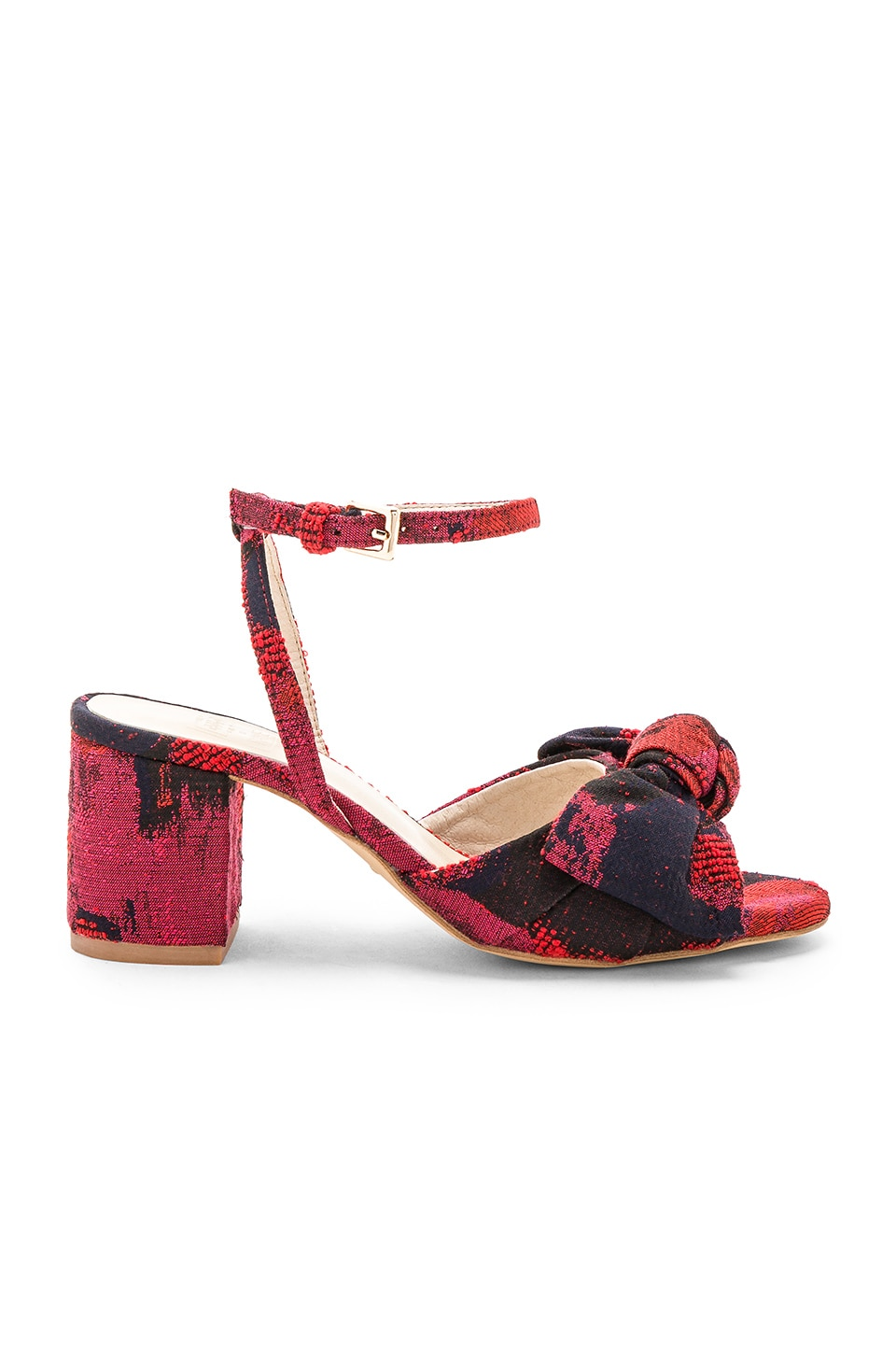 x STONE_COLD_FOX Carmine Calf Hair Sandal in Black. - size 7 (also in 5.5,6,6.5,7.5) Raye