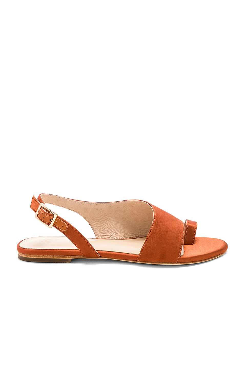 RAYE x House of Harlow 1960 Ophelia Sandal in Rust