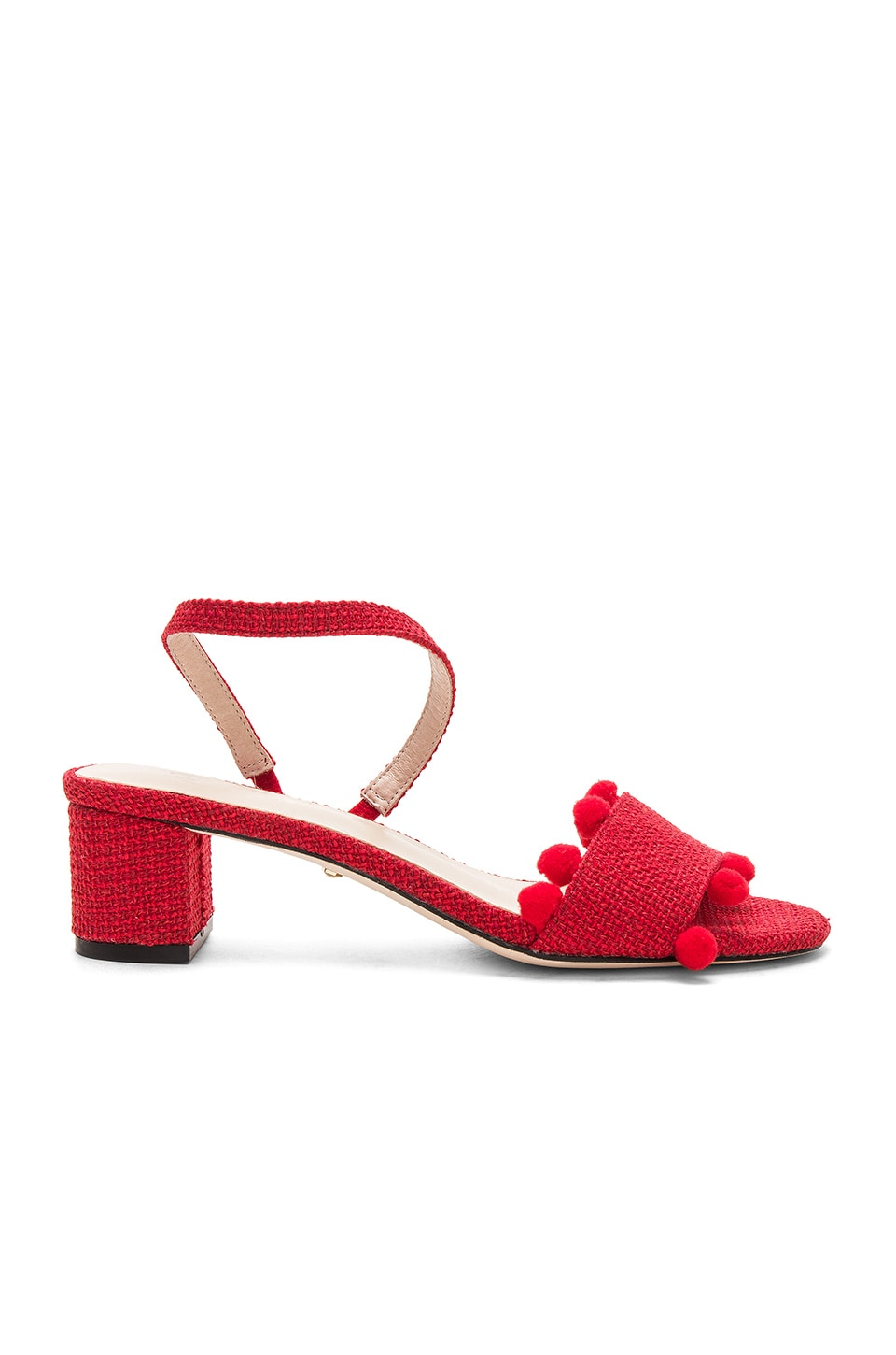 RAYE x House Of Harlow 1960 April Sandal in Red