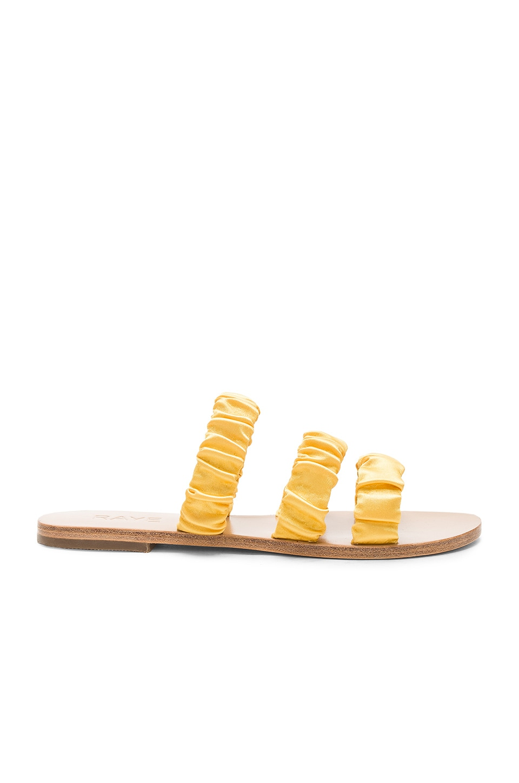 Cullen Slide in Yellow. - size 8.5 (also in 5.5,6,6.5,7,7.5,8,9) Raye