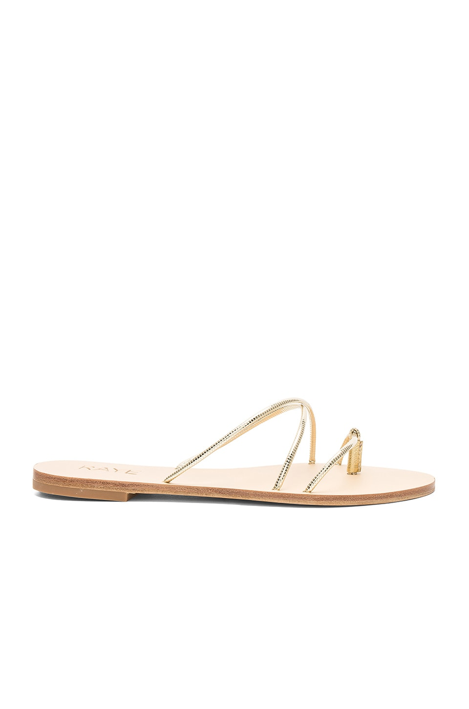 RAYE Myla Sandal in Gold