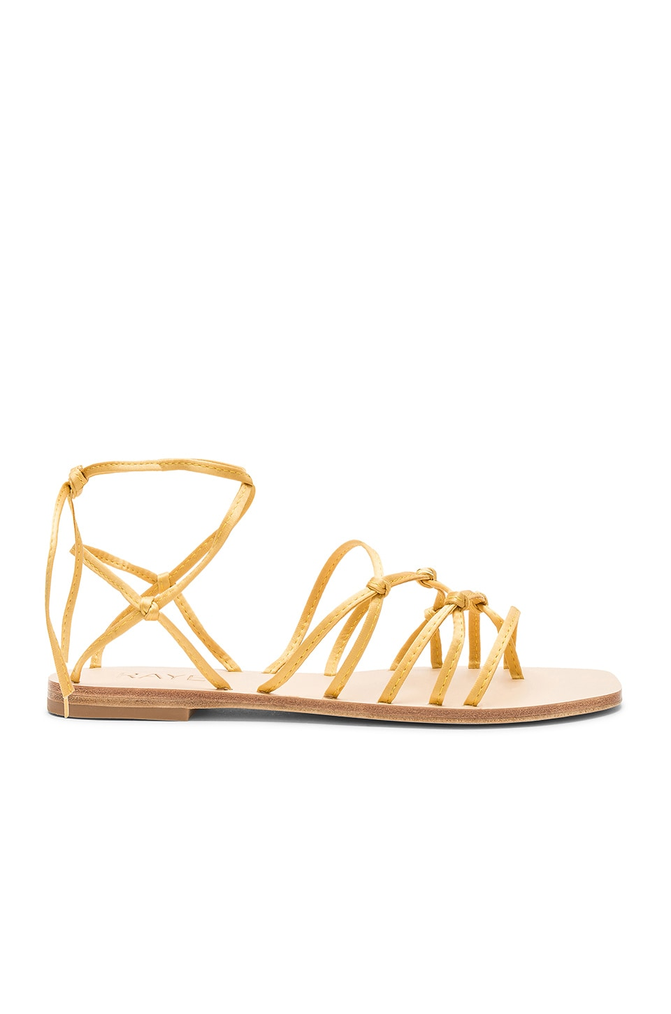 RAYE Tilly Sandal in Gold