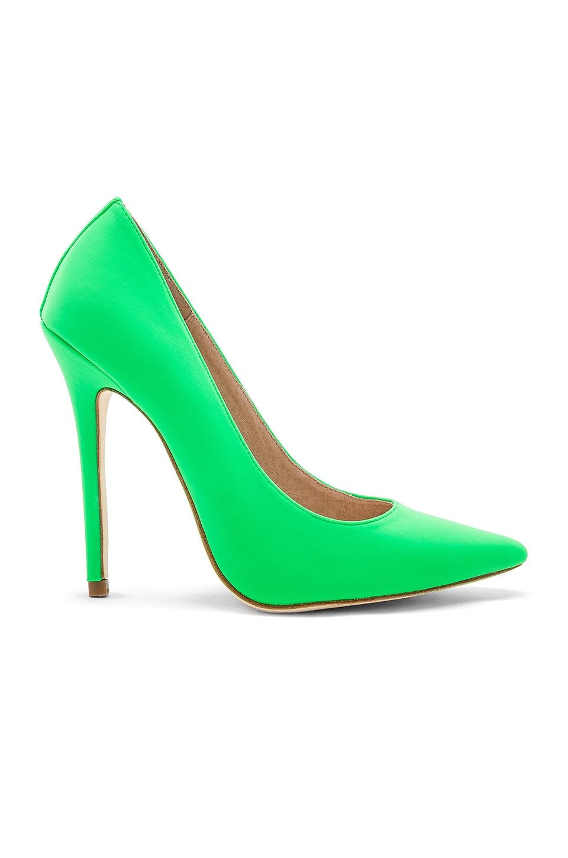 RAYE Arley Heel in Lime Green