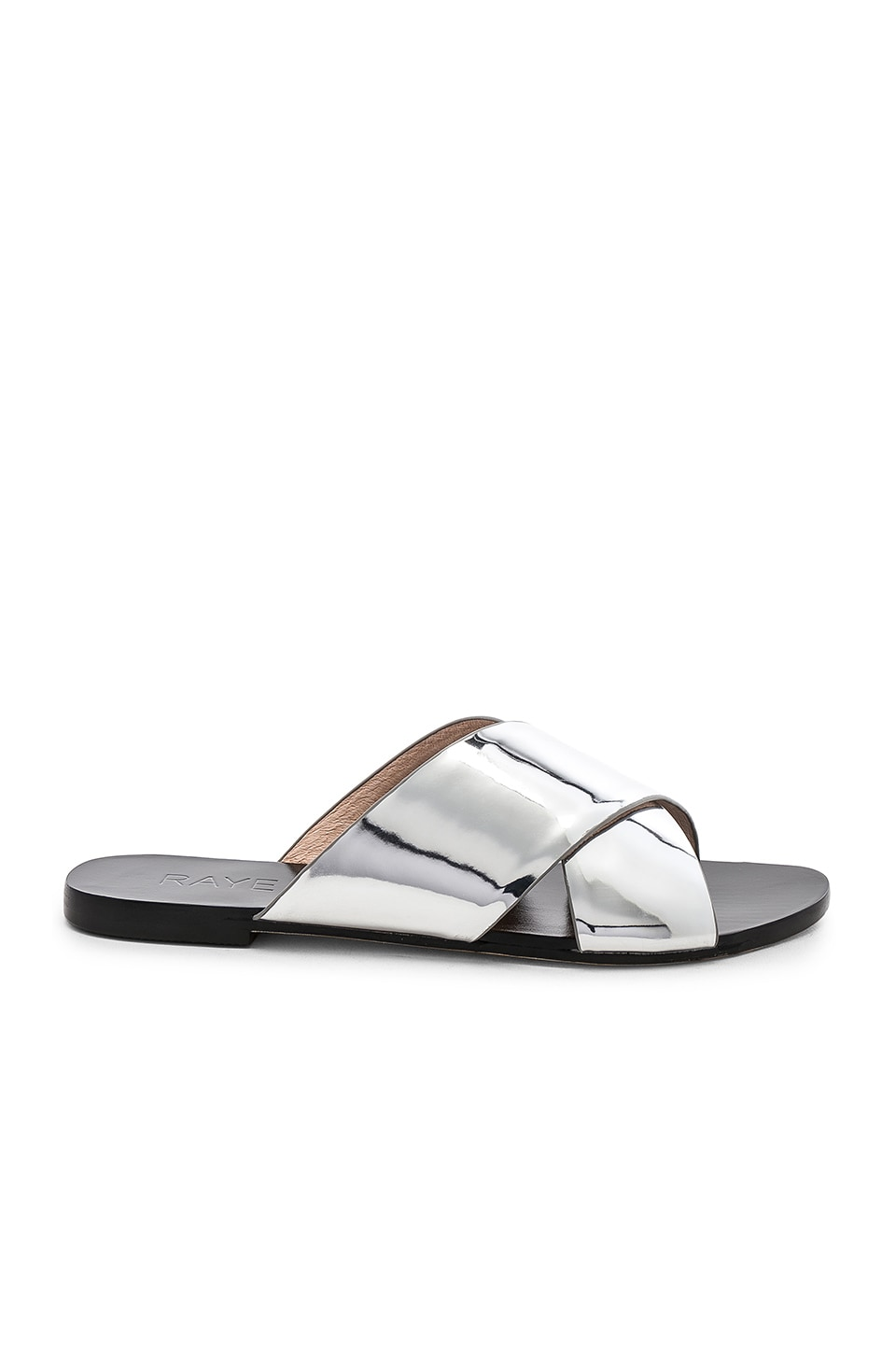 RAYE Atmore Slide in Silver