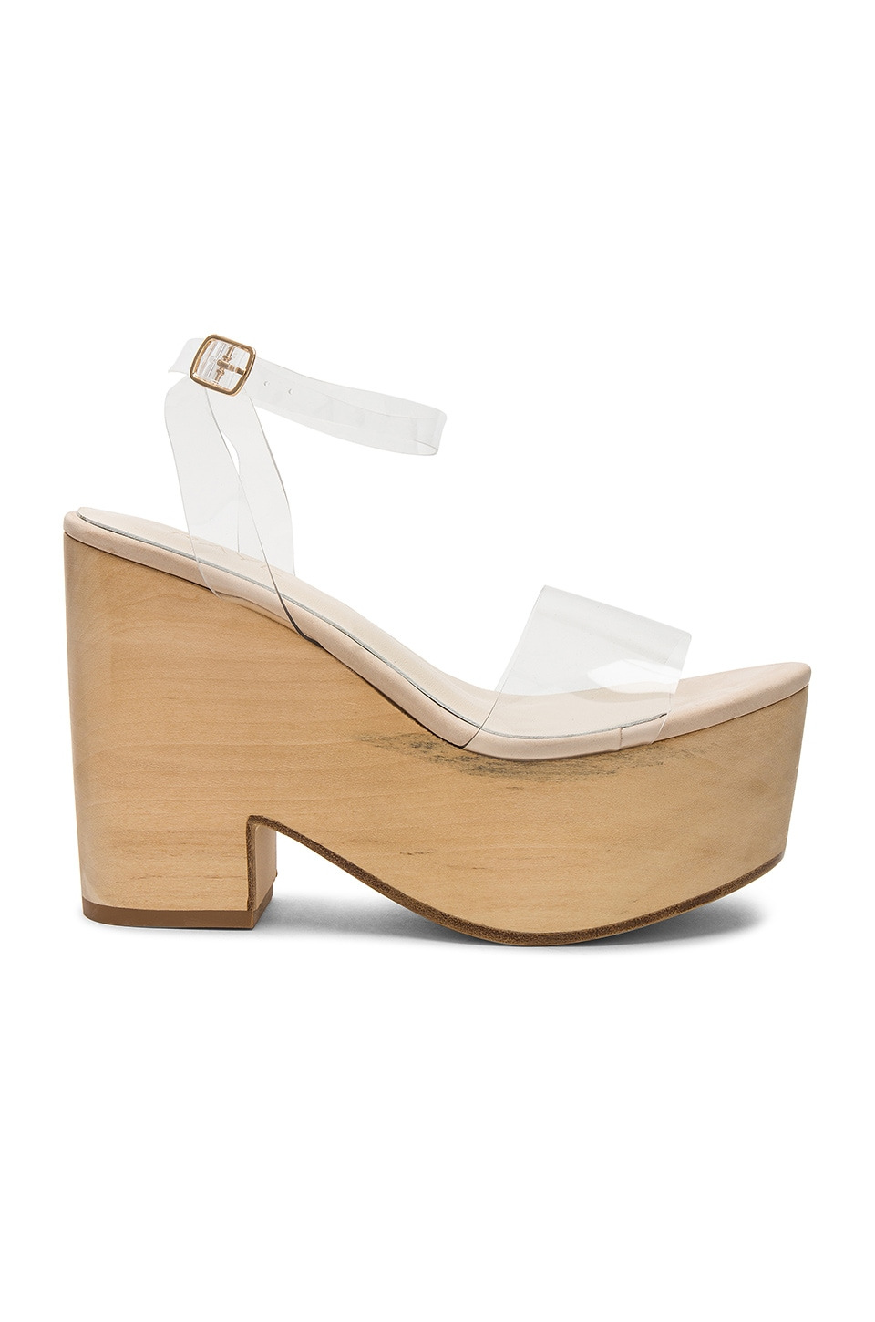 RAYE Jona Wedge in Clear