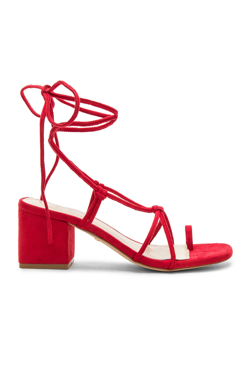 RAYE x STONE_COLD_FOX Bellissima Sandal in Red