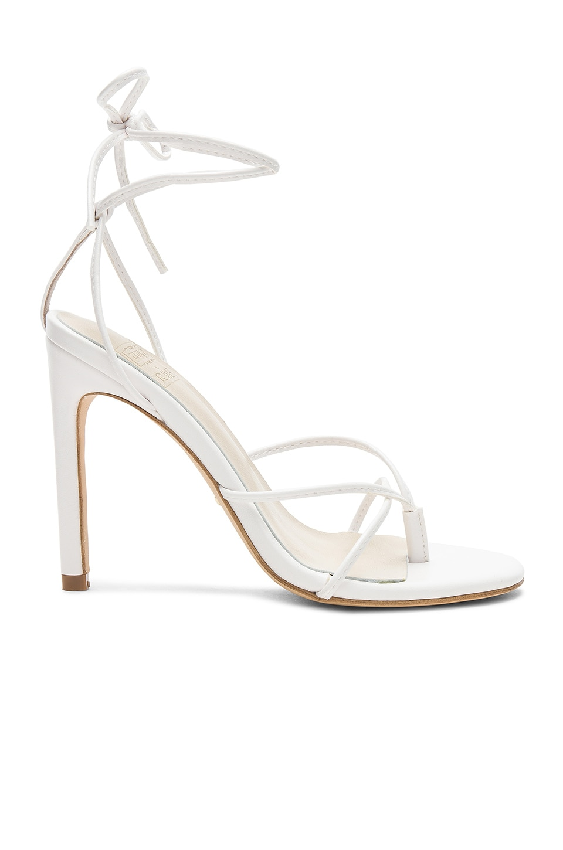 RAYE x STONE_COLD_FOX Cecile Heel in White