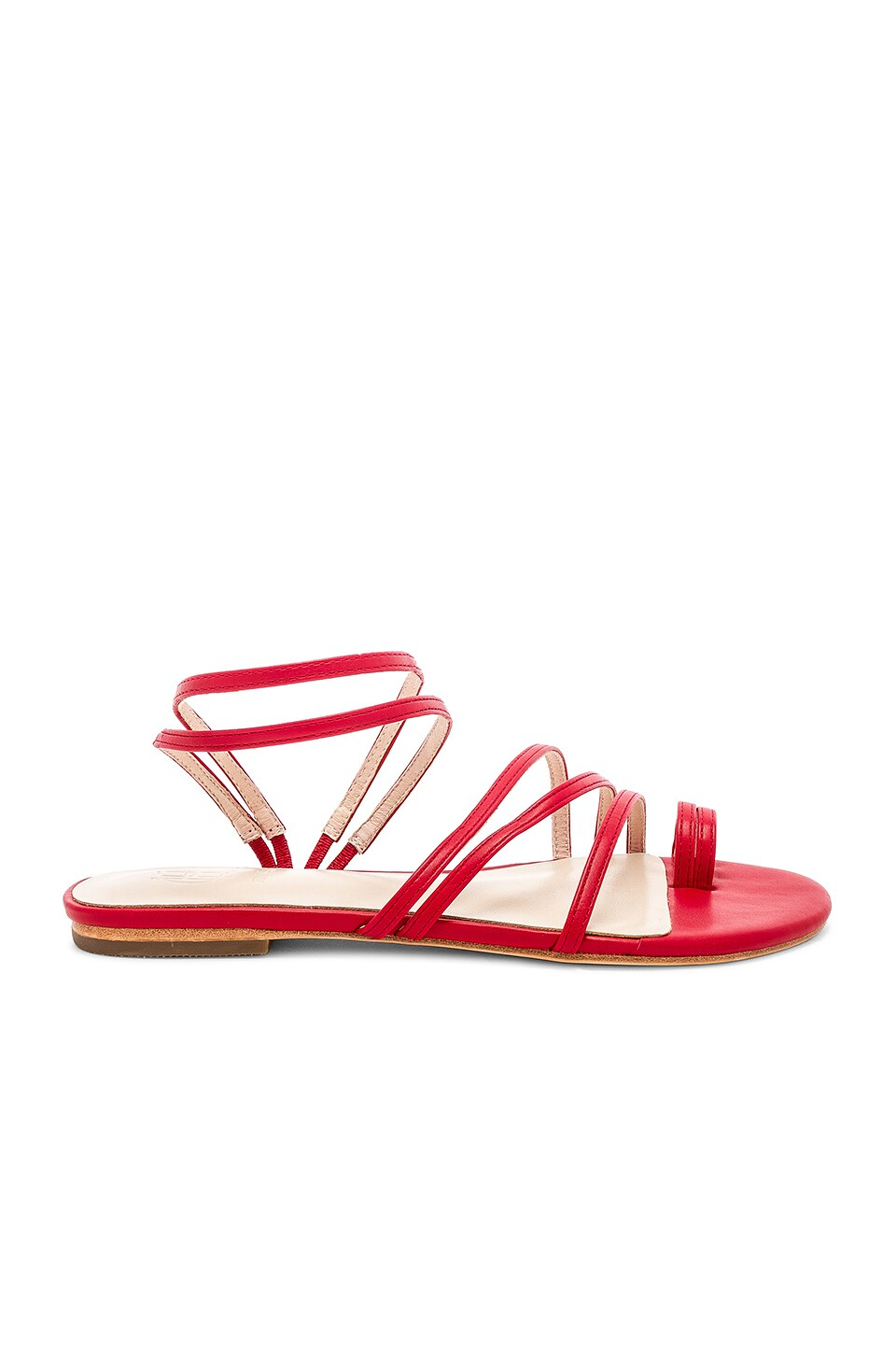 RAYE x House Of Harlow 1960 Glimmer Sandal in Red