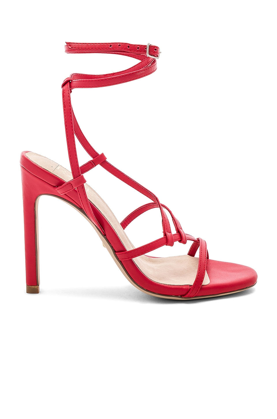 RAYE Martini Heel in Ruby