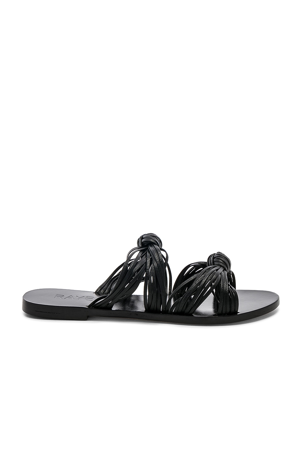 RAYE Lillian Slide in Black